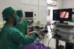 Bé sơ sinh 7 tháng tuổi ở Quảng Ninh suy hô hấp nặng do sặc bột