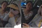 Clip: Lấn làn tông gãy gương ô tô ngược chiều rồi bỏ chạy, nữ 'ninja' gân cổ cãi lý