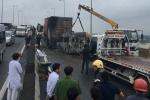 Ô tô bốc cháy trên cao tốc, 2 người chết: Xác định nguyên nhân tai nạn
