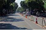 Bắt đầu rào thử xây ga ngầm S12 ở đường Trần Hưng Đạo, các phương tiện di chuyển như nào?