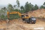 Doanh nghiệp 'núp bóng' mỏ đá để khai thác đất ở Hà Tĩnh