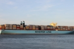 Siêu tàu lớn nhất thế giới sắp cập cảng Cái Mép