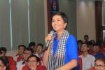 Hoa hậu H' Hen Niê đối thoại cùng Bí thư thứ nhất Trung ương Đoàn