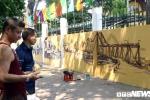 Ảnh: Hà Nội xưa cổ kính trên phố bích họa Phan Đình Phùng