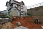 Sạt taluy công trình, một người bị vùi lấp ở Lâm Đồng