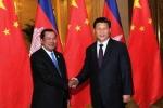 Chủ tịch Trung Quốc Tập Cận Bình đến thăm Campuchia