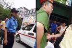 Vụ bảo vệ chặn xe cứu thương tại Bệnh viện Nhi TW: Xuất hiện 2 clip mới