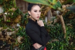 Hoa hậu Văn hóa thế giới 2017 đẹp ma mị trong bộ ảnh mới