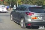 Công an ráo riết điều tra xe Mazda 30A-544.56 cố tình đâm gục xe máy trên phố Hà Nội
