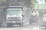 Ảnh: Cận cảnh con đường mịt mù bụi than khiến người dân khiếp đảm ở Quảng Ninh