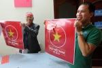 Video: In không kịp sau tuyên bố phát decal miễn phí cổ vũ U23 Việt Nam