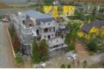 Rừng phòng hộ Sóc Sơn bị 'băm nát' để xây biệt thự, lâu đài nhìn từ flycam