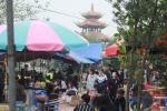 Quán ăn, cờ bạc trá hình bủa vây tại lễ hội chùa Đậu ở Hà Nội