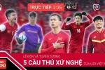 Trực tiếp: Lễ đón và tuyên dương 5 cầu thủ xứ Nghệ của U23 Việt Nam