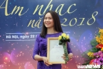 'Vũ khúc cánh đồng' của ca sĩ Mai Hoa giành giải thưởng cao nhất của Hội Nhạc sĩ