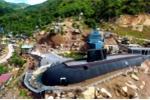 Mô hình tàu ngầm Kilo 636 như thật ở Khánh Hòa