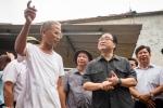 Bí thư Hà Nội lội nước thăm người dân vùng ngập Chương Mỹ