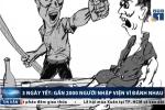 3 ngày Tết: Gần 2.000 người nhập viện vì đánh nhau