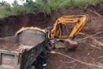 Triệu tập nguyên trưởng công an xã khai thác đất trái phép ở Đắk Lắk