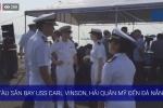 Trực tiếp: Lễ đón tàu sân bay USS Carl Vinson tại Đà Nẵng