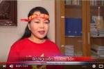 Bộ trưởng Y tế mặc áo cờ đỏ sao vàng quay clip cổ vũ U23 Việt Nam