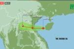 VIDEO Trực tiếp: Tin mới nhất bão số 3 Sơn Tinh