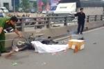 Xe ben tông xe máy trên cầu vượt ở Đồng Nai, bé gái bị cán chết thương tâm