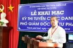 Huế tổ chức thi tuyển chức danh Phó Giám đốc Sở Tư pháp