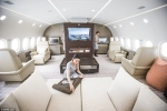 Ngất ngây độ sang chảnh của máy bay có giá thuê gần 600 triệu đồng/giờ
