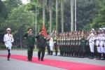 Chủ nhiệm Tổng cục Chính trị Quân đội nhân dân Lào thăm Việt Nam