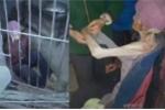 Video: Bị con trai nhốt như trong tù, cụ bà chỉ còn da bọc xương