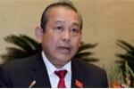 Phó Thủ tướng Trương Hoà Bình: Xử lý nghiêm các trường hợp kích động gây rối