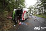 Tai nạn tại thảm khốc 7 người chết ở đèo Prenn: Xe mất phanh, trên xe có nhiều trẻ em