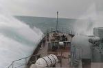 Chiến hạm Gepard Việt Nam rẽ sóng trên Biển Đen