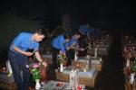 Hàng vạn ngọn nến thắp sáng Nghĩa trang Trường Sơn, sưởi ấm linh hồn các anh hùng liệt sĩ