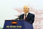 Tổng Bí thư: Công tác đối ngoại góp phần quan trọng nâng cao vị thế của Việt Nam trên trường quốc tế