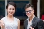 Phùng Bảo Ngọc Vân rạng rỡ làm giám khảo bên ca sĩ Đinh Mạnh Ninh
