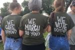 Chiếc áo gây tranh cãi của đệ nhất phu nhân Mỹ 'truyền cảm hứng' cho người biểu tình