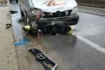 Xe khách tông xe máy điện, nam sinh lớp 10 chết thảm