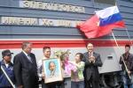 Nước Nga có đoàn tàu hỏa mang tên Hồ Chí Minh