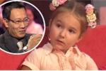 Bé gái 5 tuổi thông thạo 8 thứ tiếng khiến MC Lại Văn Sâm thán phục