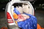 Bắt giữ ô tô chở lợn chết bốc mùi hôi thối chuẩn bị lên bàn nhậu ở Hà Nội