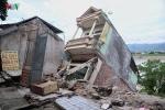 Cận cảnh 'hà bá' sông Đà nuốt trọn nhiều nhà dân ở Hòa Bình