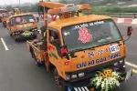 Clip rước dâu bằng xe cứu hộ giao thông ở Vĩnh Phúc xôn xao mạng xã hội