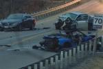 Siêu xe Lamborghini lấn làn gây tai nạn hàng loạt, người trên xe thiệt mạng