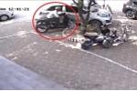 Clip bẻ khóa trộm xe SH và tẩu thoát trong chưa đầy 15 giây ở Hà Nội
