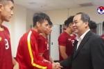 Clip: U23 Việt Nam được thưởng nóng trong phòng thay đồ