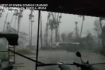 Clip: Siêu bão MANGKHUT gây gió giật dữ dội, quần thảo Philippines