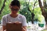 Nữ sinh Sài Gòn xinh xắn được điểm 10 môn Vẽ