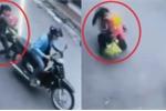 Truy tìm tên cướp kéo ngã người mẹ bế con nhỏ ở TP.HCM